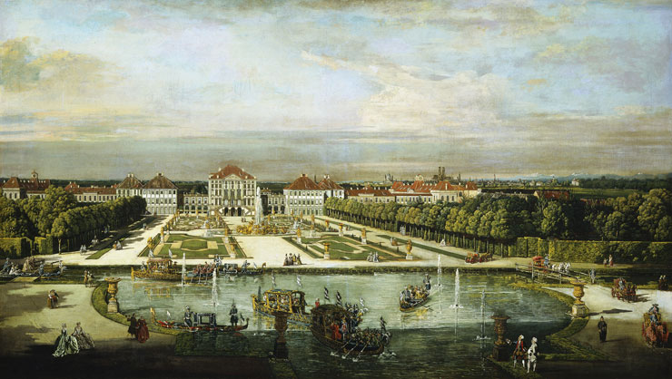 Schloss Nymphenburg, Bernardo Bellotto (1761)